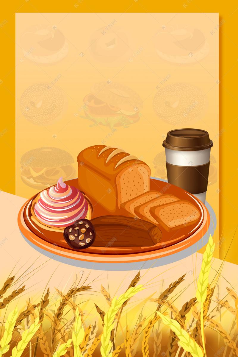 美食周边美食背景图片免费下载_海报背景/psd面包豫园广告图片