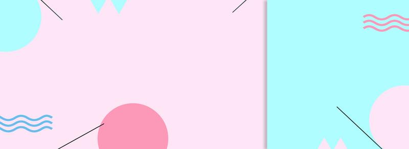淘宝天猫波浪建筑图纸含义圆圈几何蓝色三角背粉色拼接中c16155斜线图片