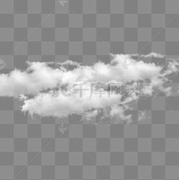 白色雲層免摳圖