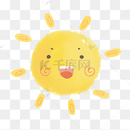 卡通趣味可愛太陽