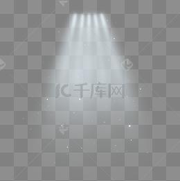 白色並列舞台燈光光束
