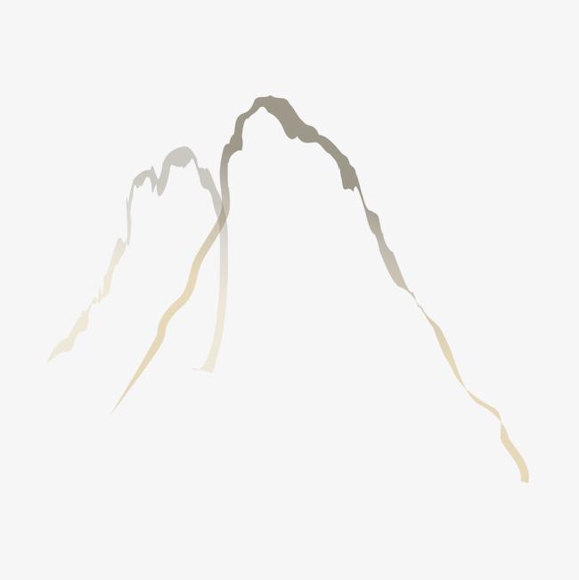 中国风山脉