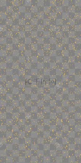 金色金粉碎片底紋背景矢量素材