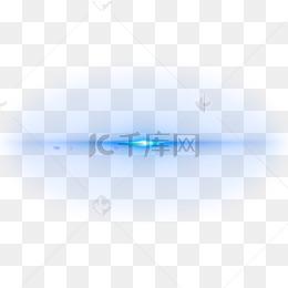 藍色科技光效素材