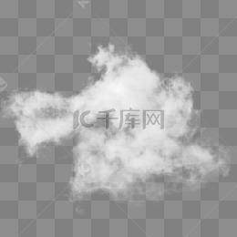 白色雲狀煙霧