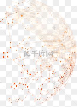 地球網絡背景png