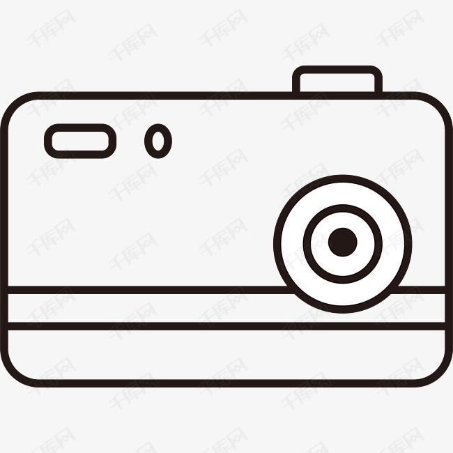 手绘相机的素材免抠城市文明标语冒热气的卡通故宫相机简笔画矢量简笔画矢量装饰矢量图简笔画装饰画相机装饰图片