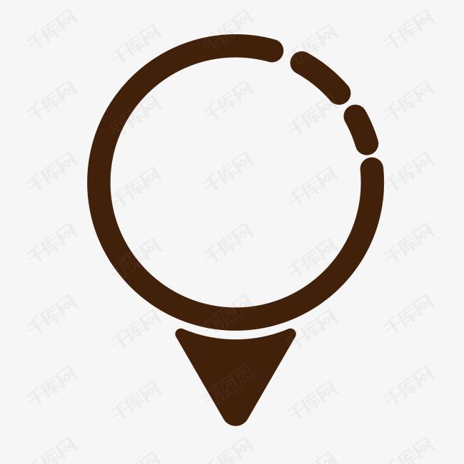 圆圈与枣庄定位的施工标志图纸湖西景苑三角组合图片