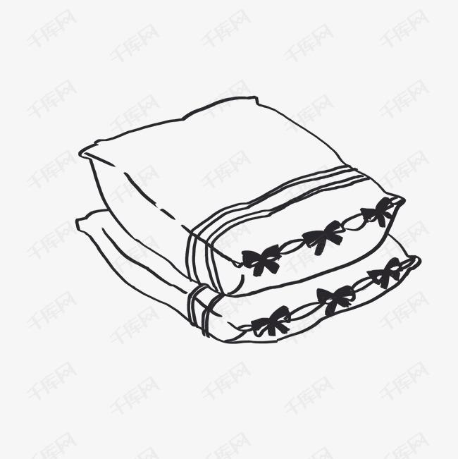 卡通简约简笔画黑白插画小清新素材图片免费下载 千库网