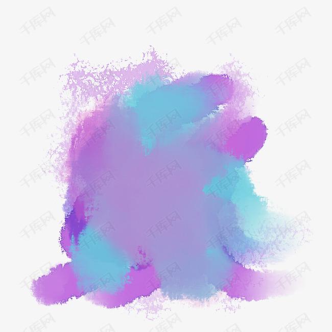 紫色油漆滴溅痕迹矢量图图片