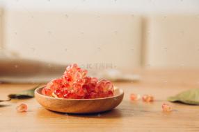 初秋森系水果攝影圖