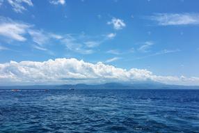 巴厘岛海平面
