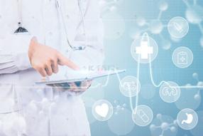 电子科技医疗现代技术医疗海报