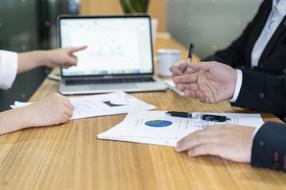 商务合作讨论过程
