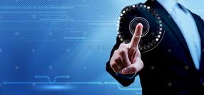 触碰科技商务数据背景