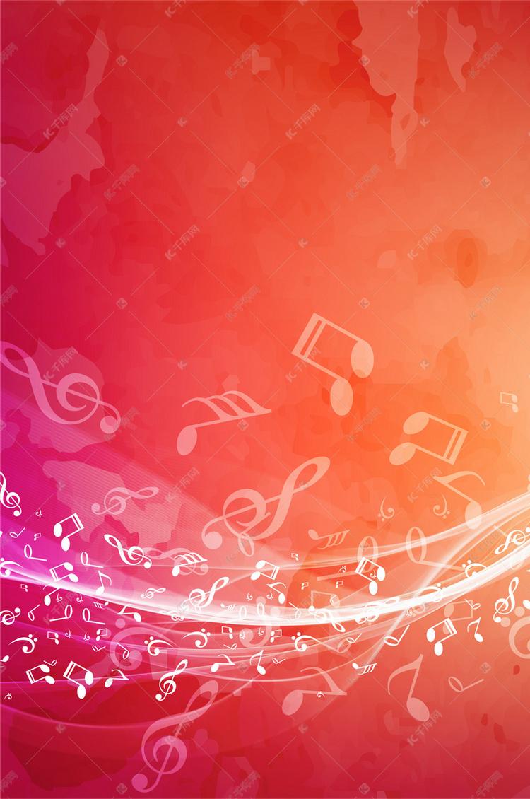 创意音乐符号背景素材背景图片免费下载 千库网图片