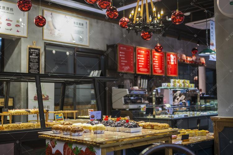 甜品店蛋糕店摄影图高清摄影大图 千库网