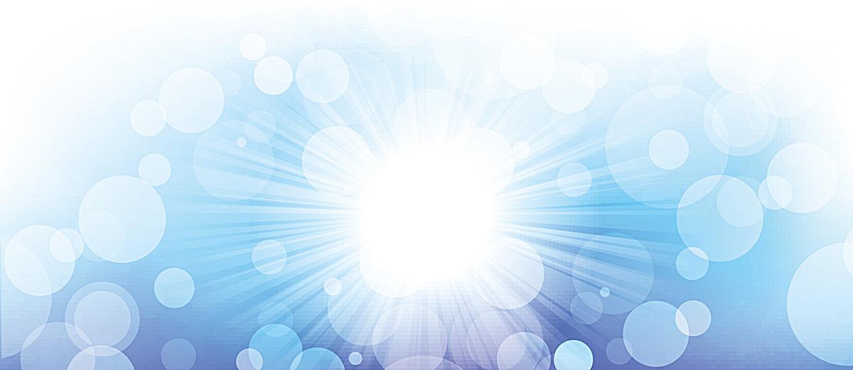 太阳清新光晕背景bannerpsd素材-90设计