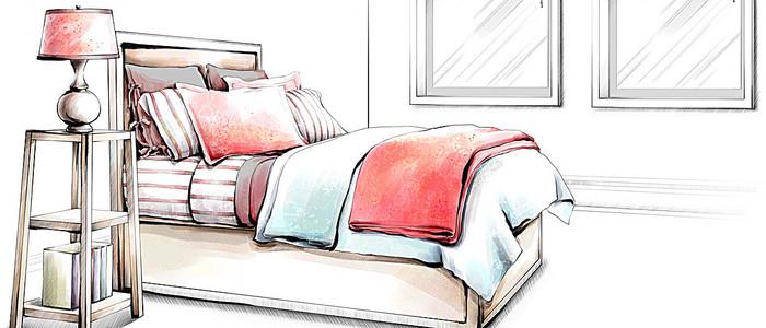 卡通床背景素材 卡通床高清背景下载 千库网