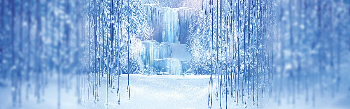 冰雪奇缘 电影海报图片背景素材免费下载,图片编号_千