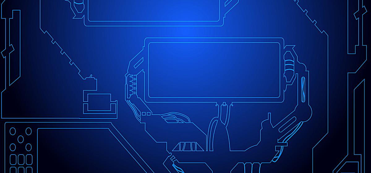 高科技线路板背景科技