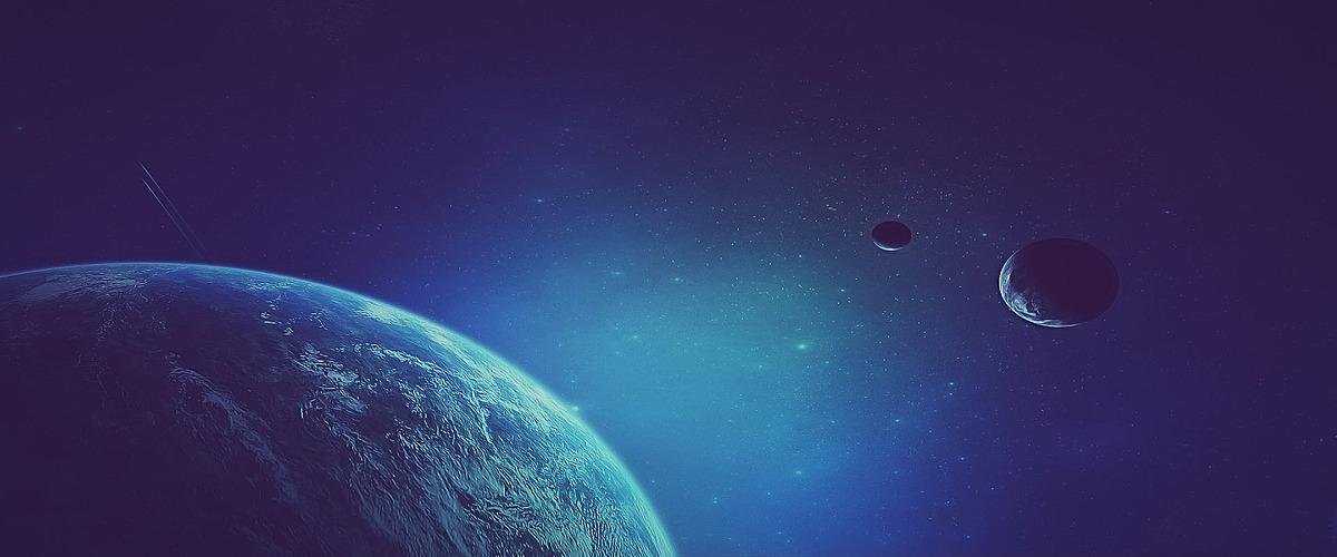 海报背景_星空地球背景jpg素材-90设计