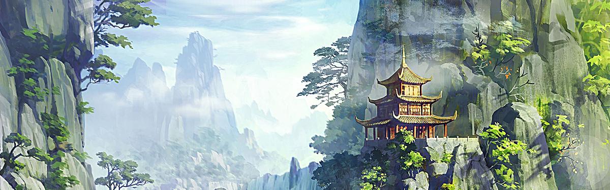 图片 背景手绘 > 【jpg】 手绘背景  分类:中国风/复古 类目:其他