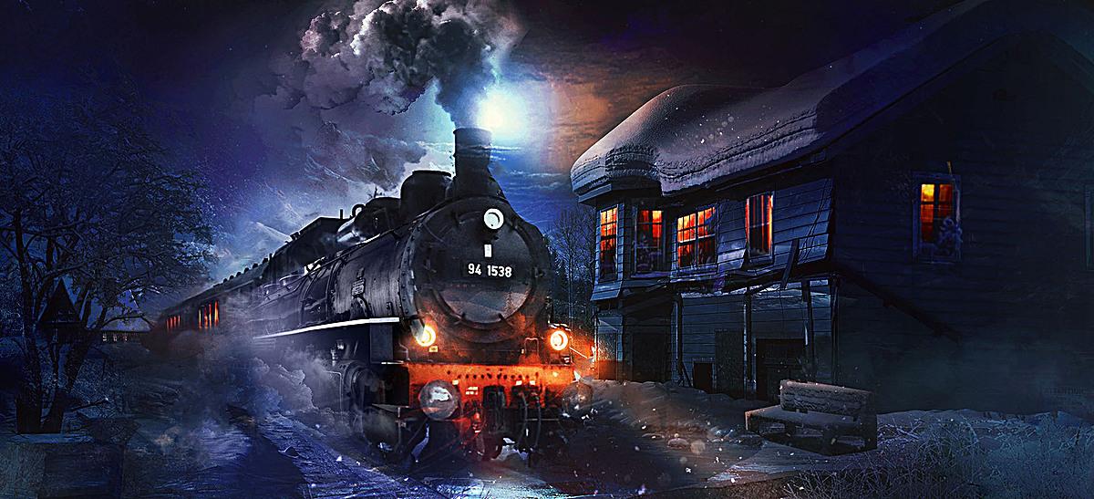01m 尺寸:1920*876 90设计提供火车绘画海报素材设计素材下载,高清psd