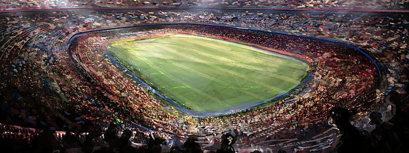 超屌足球场背景