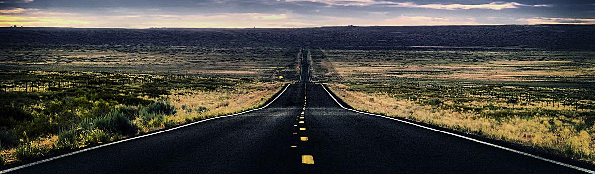 公路大路风景背景