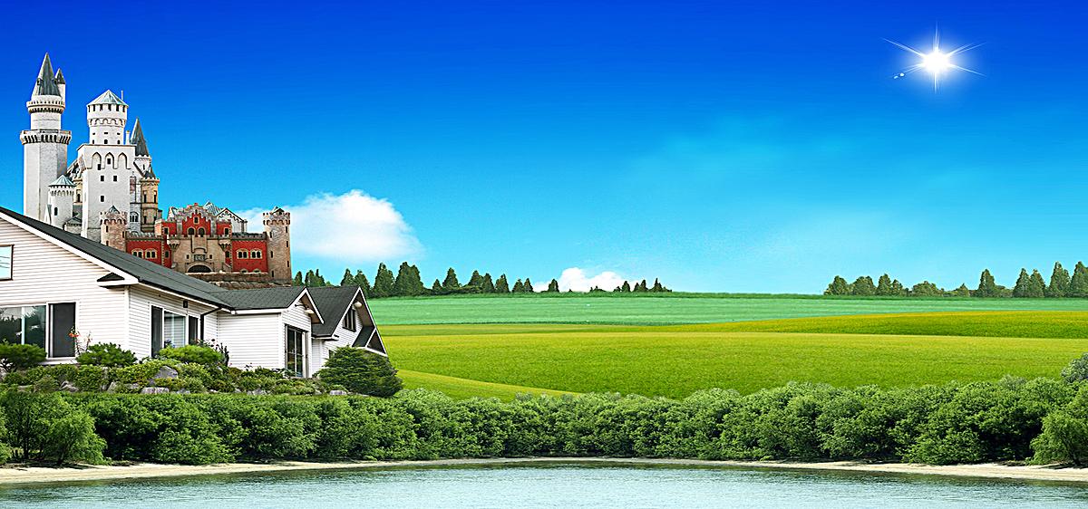 风景 韩式 自然 海报banner 摄影             此素材是90设计网官方
