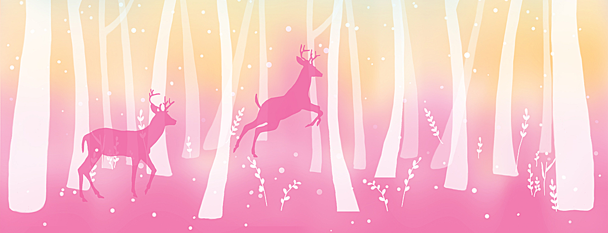 图片 > 【psd】 粉色森林星光背景  分类:艺术字体 类目:其他 格式:ps