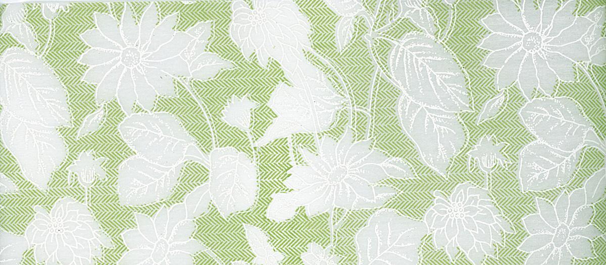 绿色和风日式花纹背景