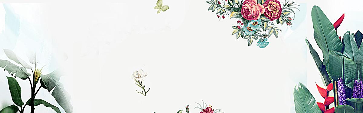 90设计提供花朵简约冷色背景设计素材下载,高清psd格式.