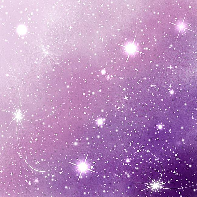 紫色玄幻风景图