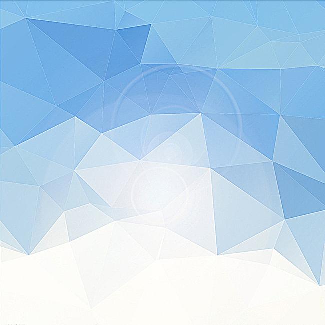 淡蓝几何背景图片