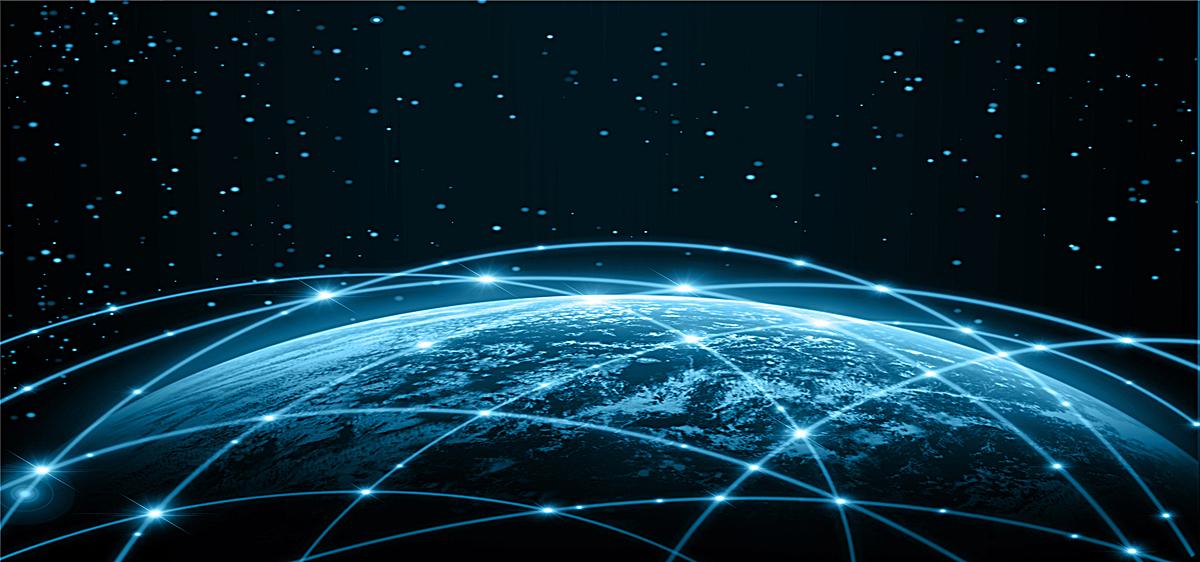 商务互联网科技背景jpg素材-90设计图片