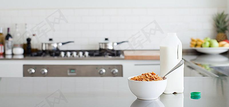 厨房背景图背景图片免费下载 海报banner 高清大图 千库网 图片编号3524785
