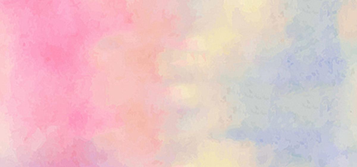 水粉手绘背景