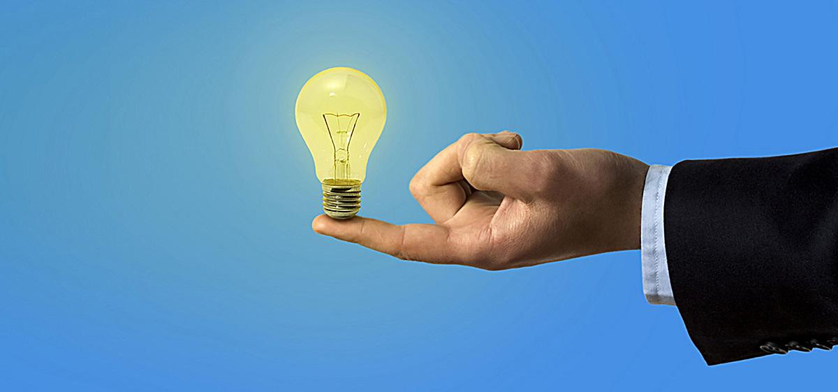 圖片 > 【jpg】 商業商務手托燈泡  分類:自然/風景 類目:其他 格式