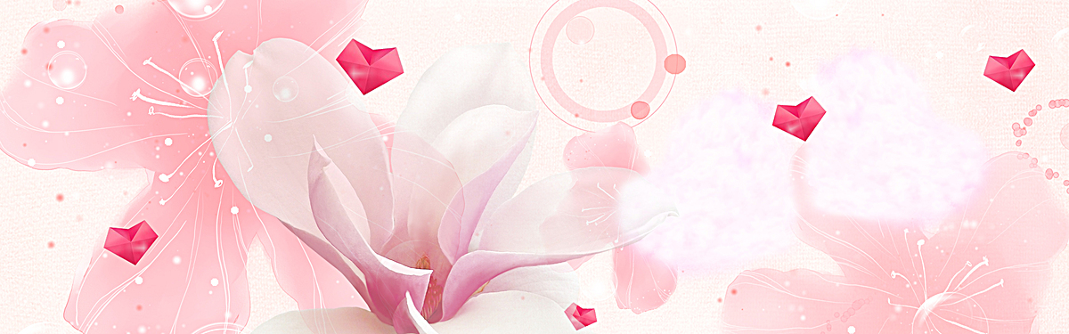 淘宝手绘水彩花卉