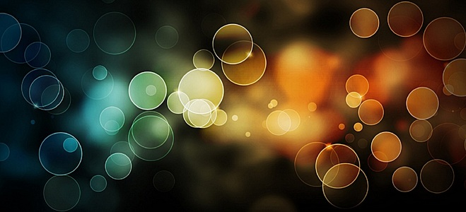 夜景光斑高清背景素材下载 千库网