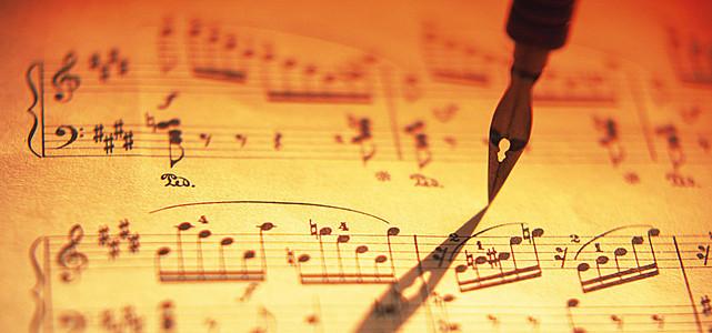 复古文艺小提琴乐谱背景素材 2516 3437 -乐谱背景素材 乐谱高清背景
