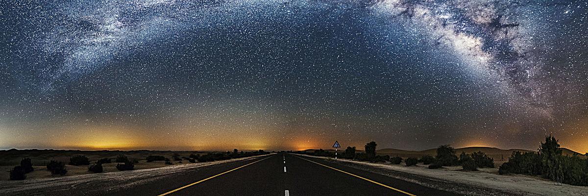 公路素材_90设计提供星空下的公路设计素材下载,高清psd格式.