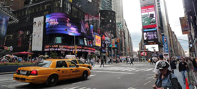 城市街头高清背景素材下载 千库网图片