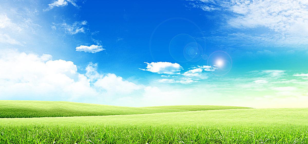 清新蓝天背景图图片