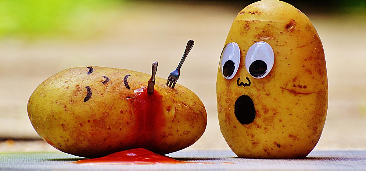 创意 土豆 搞笑 手绘背景海报banner             此素材是90设计网