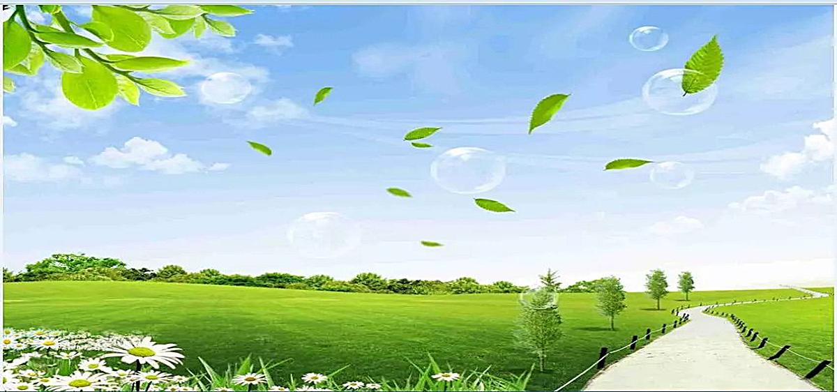 自然风景_春天风景图jpg素材-90设计