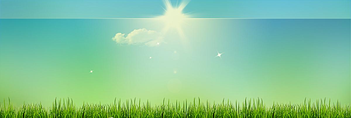 蓝天阳光白云背景