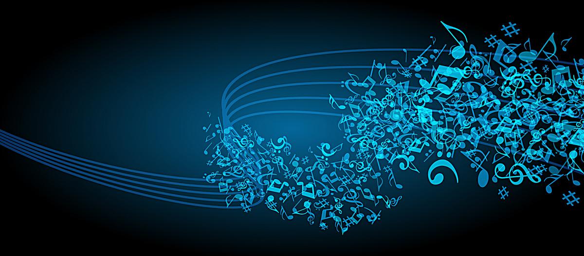 动感音乐律动背景